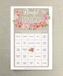 bridal shower games that promise to break the ice bridal