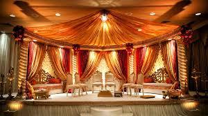 Indian Wedding Mandap Rental Indian Bridal Decorations Stunning Orange U0026 Cream Mandap