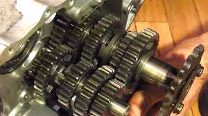 motorcycle transmission in action youtube