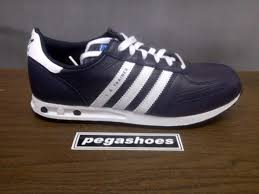 Jual Adidas Made In Indonesia pegashoes bandung on adidas la trainer navy leather size