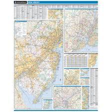 Rand Mcnally World Map by Rand Mcnally New Jersey State Wall Map