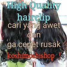 jual hair clip jual hairclip on iklanterbaru mw cantik dg rambut