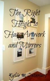how high should i hang my pictures walls hanging pictures and