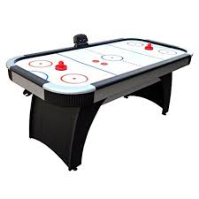 harvil 5 foot air hockey table with electronic scoring amazon com hathaway silverstreak 5 foot air hockey game table for