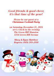 christmas party free invitation template wedding invitation