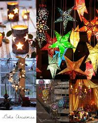 Christmas Decorations Hanging Light Fixtures by Lucia Flores Diary Bohemian Christmas Inspiration Bohemian