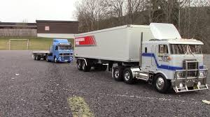 semi trailer truck rc trail tamiya tractor truck u0026 semi trailer father u0026 son fun