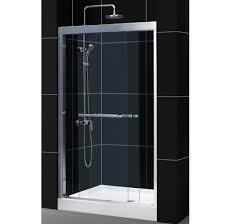 glass shower doors toronto bathroom frameless clear glass dreamline shower door for modern