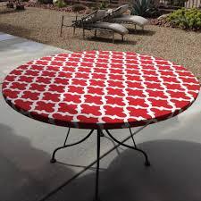 Elasticized Tablecloths Round End Table Tablecloth Starrkingschool
