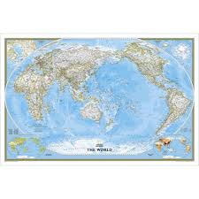 world classic pacific centered wall map laminated national world classic pacific centered wall map laminated national geographic store