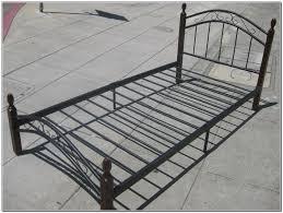 metal bed frame twin bed u0026 shower