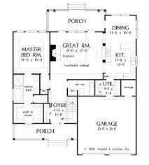 Farmhouse Plans Houseplans Com Country Floor Plan Main Floor Plan Plan 929 52 House Plans