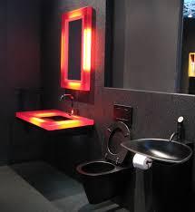 Red And Black Bathroom Ideas Colors Bathroom Extraordinary Black Bathroom Design Ideas With Red