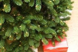 image of artificial tree stand menards prelit