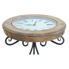 Clock Coffee Table by Amazon Com Unique Round Clock Coffee Table And End Tables Your