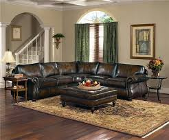 Wood And Leather Chair With Ottoman Design Ideas Living Room Furniture Black Distressed Leather Sofa With Ottoman