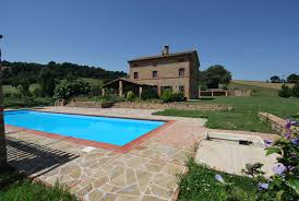 country house with pool and 5 hectares of land property le marche