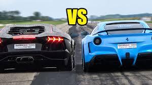berlinetta vs lamborghini aventador f12 berlinetta vs lamborghini aventador revs battle