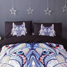 Wolf Bed Sets Wolf Bedding Set Sukceed