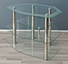 hifi regal lcd led plasma tv medien regal schrank glas fernsehtisch phono