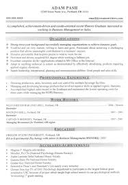 Resume Work Experience Examples For Students by Graduate And Post Graduate Resume Examples