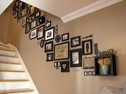 decorate stairway wall top 25 staircase wall decorating ideas