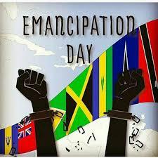 Haitian And Jamaican Flag Emancipation Day Broken Chain