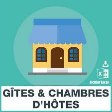 acheter gites et chambres d h es 27 853 adresses e mails de gites et chambres d hotes base emails com