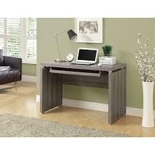 computer desk dark taupe desks u0026 workstations best buy canada