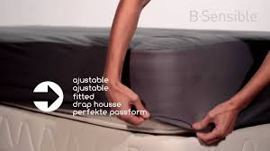 breathable sheets b sensible breathable and waterproof fitted sheet youtube