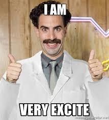 Borat Very Nice Meme - borat very excite sound clip mne vse pohuj