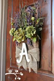 front door wreath ideas best 25 initial door wreaths ideas on pinterest initial door