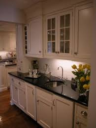 Black Galaxy Granite Countertop Kitchen Traditional With by Tile Backsplash Ideas For Black Granite Countertops There Are