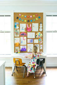 how to make a child s desk childs art desk art desk with storage art table with storage