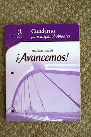 avancemos avancemos 3 tres cuaderno para hispanohablantes