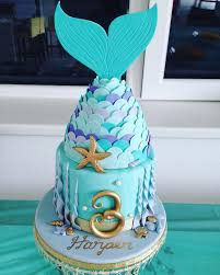 mermaid birthday cake mermaid birthday cake i made for my daughters 3rd birthday
