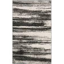 Modern Grey Rug by Safavieh Retro Dark Grey Light Grey 8 Ft 9 In X 12 Ft Area Rug