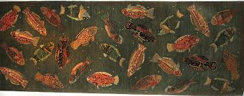 Fish Runner Rug Alluring Fish Runner Rug With Coffee Tables Nautical Washable Rugs