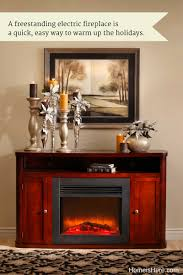 dress up your electric fireplace home is here