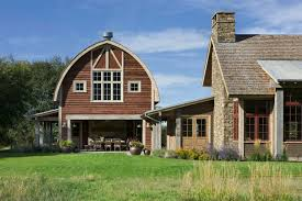 pole barn apartment plans picturesque montana farmhouse with an attached barn barn