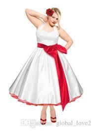 discount 2016 plus size wedding dresses color tea length vestido