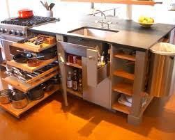 kitchen storage islands kitchen graceful kitchen island storage ideas with garbage can