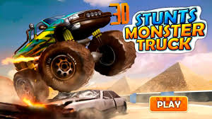 kids monster truck video monster truck video for kids monster trucks game 3d stunts