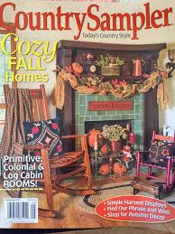 vintage halloween collector country sampler sept 2015 magazine