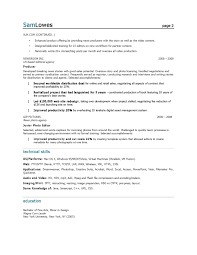 Resume For Marketing Job Sample Marketing Resumes Resume For Your Job Application