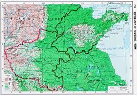 Radius Maps Topography Of Shandong Henan