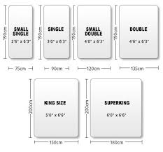 Length Of King Size Bed Best 25 Standard Double Bed Size Ideas On Pinterest Bunk Bed