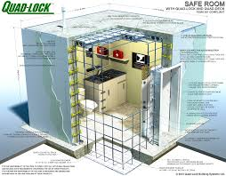 plan concrete safe room construction with insulated concrete forms