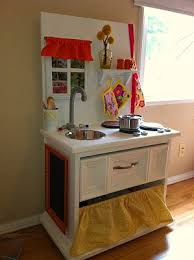 diy play kitchen ideas from end table to adorable play kitchen plays kitchens and