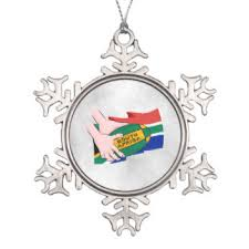 south african africa flag christmas tree decorations u0026 ornaments